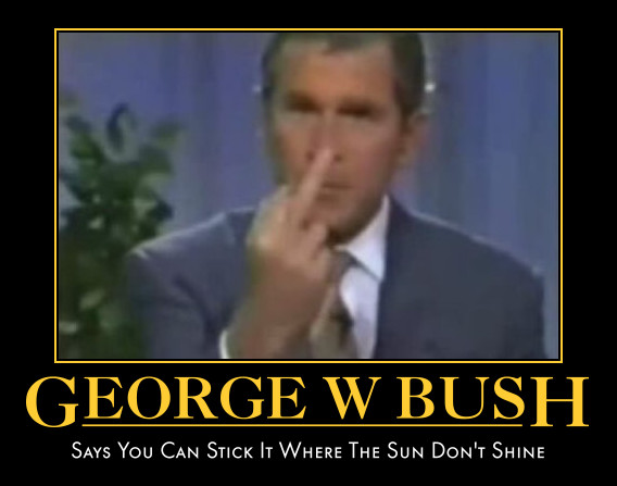 funny pictures george bush