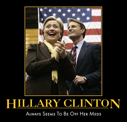 funny Hillary Clinton demotivational poster