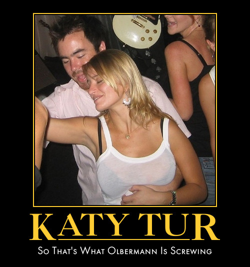 funny Katy Tur Keith Olbermann demotivational posters poster political