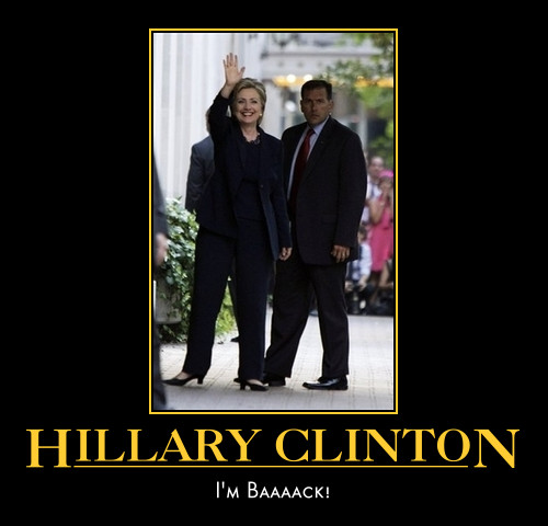 funny Hillary Clinton demotivational posters poster political demotivation