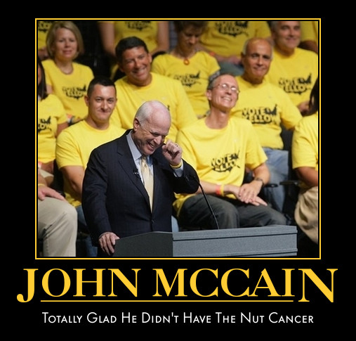 funny John mcCain demotivational posters poster political demotivation