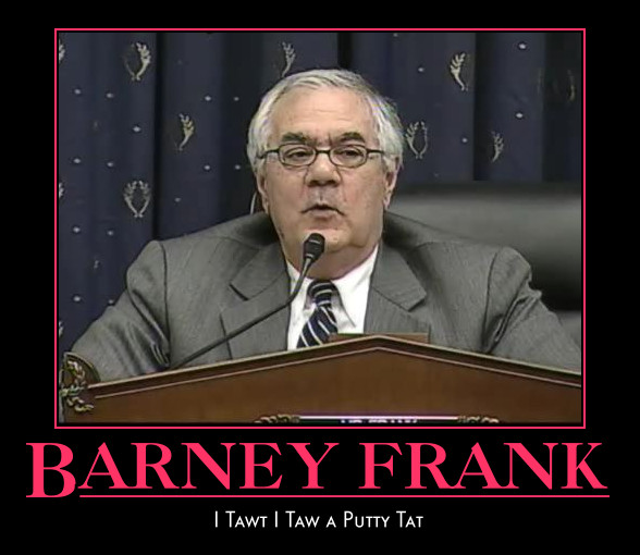funny Barney Frank demotivational posters poster political demotivation
