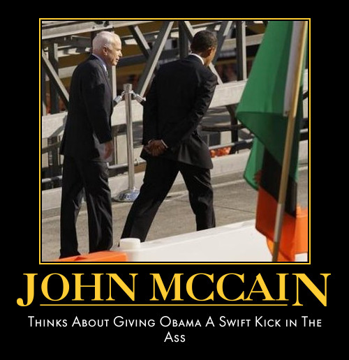 funny John McCain demotivational posters posterp olitical demotivation
