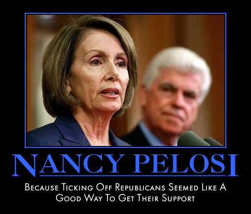 funny Nancy Pelosi demotivational posters poster political demotivation