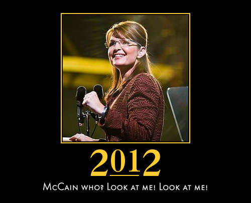 funny Sarah Palin demotivational posters poster political demotivation