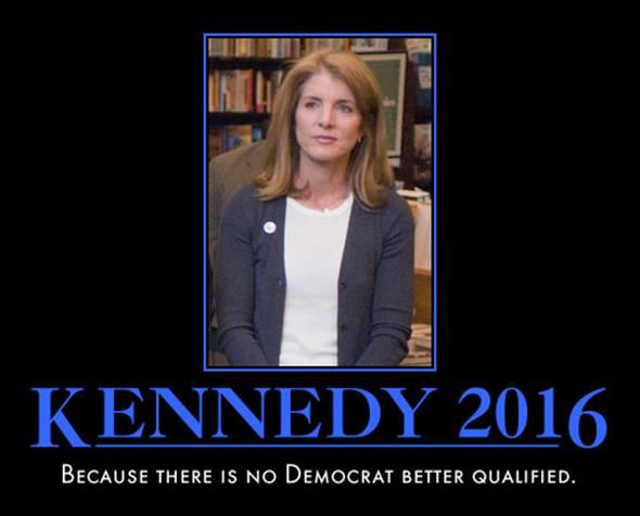 funny Caroline Kennedy demotivational posters poster political demotivation