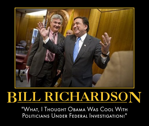 funny Bill Richardson demotivational posters poster political demotivation
