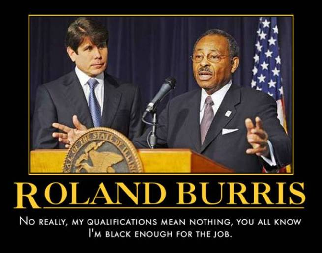 funny Roland Burris demotivational posters poster political demotivation