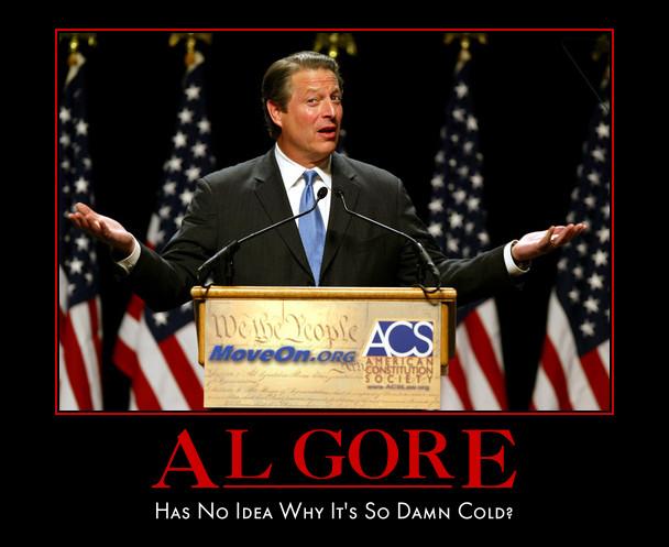 funny Al Gore demotivatonal posters poster political demotivation