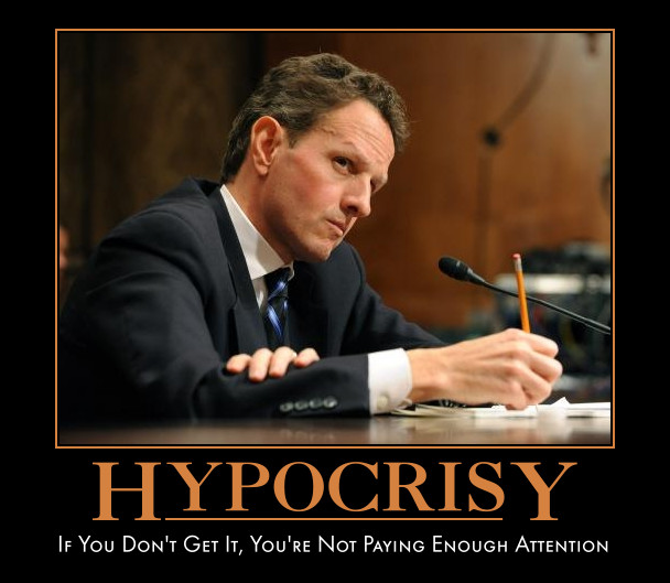 funny Timothy Geithner demotivational posters poster political demotivation