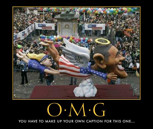 funny Barack Obama demotivational posters poster political demotivation