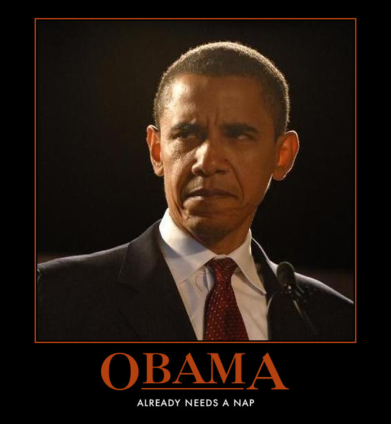 funny Barack Obama demotivational posters poster politcal demotivation