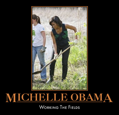 funny Michelle Obama demotivational posters poster political demotivation