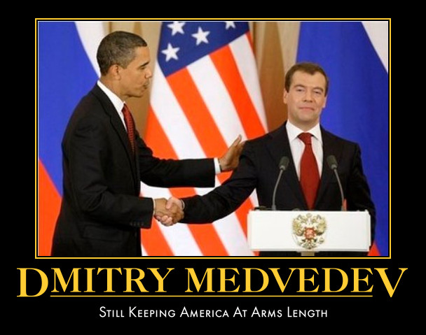 funny Dmitry Medvedev demotivational posters poster political demotivation